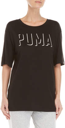 Puma Fusion Elongated Logo Tee