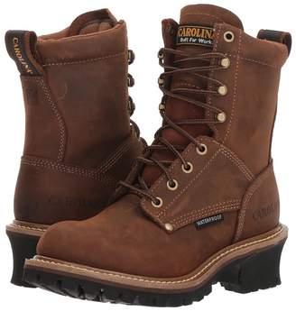 Carolina Elm 8 Waterproof Plain Toe Logger CA435 Women's Work Boots