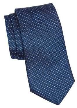 Emporio Armani Silk Dot Tie