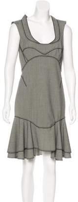 Zac Posen Wool-Blend Sheath Dress