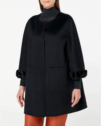 N.Peal Fur Trim Jacket