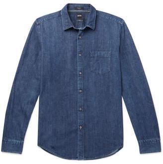 57ccc3ec HUGO BOSS Ronnie Slim-Fit Denim Shirt