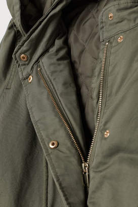 H&M H&M+ Hooded Parka - Green