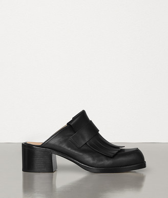 Bottega Veneta LOAFERS IN BERRY CALF