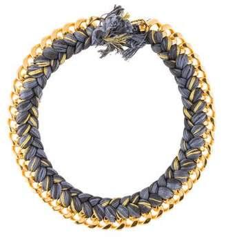 Aurelie Bidermann Do Brasil Braided Necklace