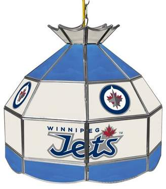 Pool' Trademark Global NHL Stained Glass 1-Light Pool Table Lights Pendant Trademark Global