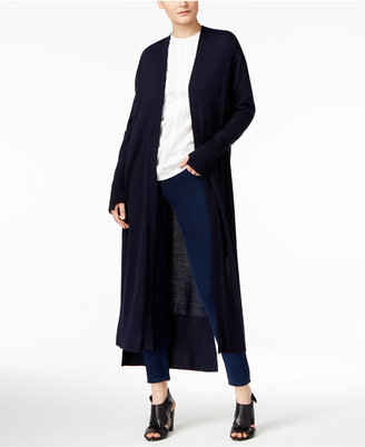 Dkny Long Open-Front Cardigan $199 thestylecure.com