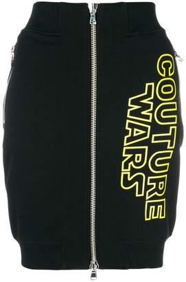 Moschino Wars mini skirt