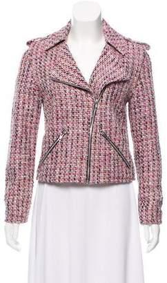 Torn By Ronny Kobo Notch-Lapel Tweed Jacket