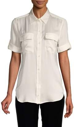 Equipment Slim-Fit Short-Sleeve Shirt