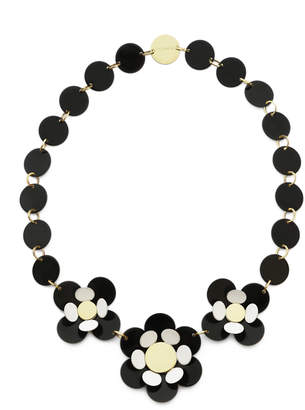 Isuwa Oya Black Flower Necklace