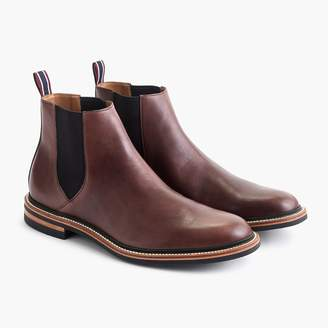 J.Crew Oar Stripe Chelsea boots in Italian leather
