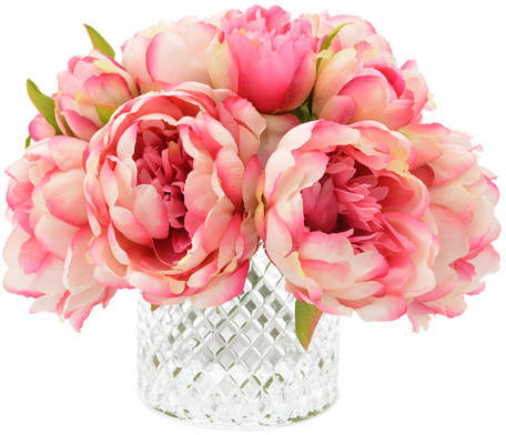 House of Hampton Lush Peony Bouquet