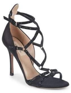 Valentino Embellished Stiletto Sandals