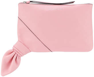 J.W.Anderson knot leather pouch