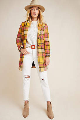 Scotch & Soda Ascot Plaid Coat