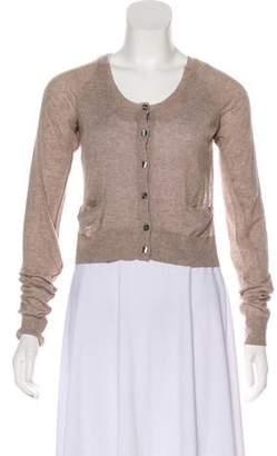 Dolce & Gabbana Lace Knit Cardigan