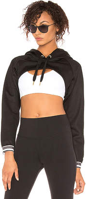 Puma Varsity Cover Up Cropped Hoodie