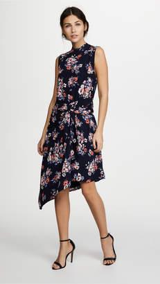 Ella Moon Floral Tie Front Dress