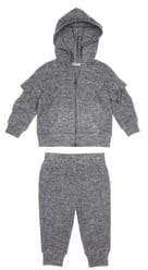 Habitual Jocelyn Ruffle Hoodie & Sweatpants Set