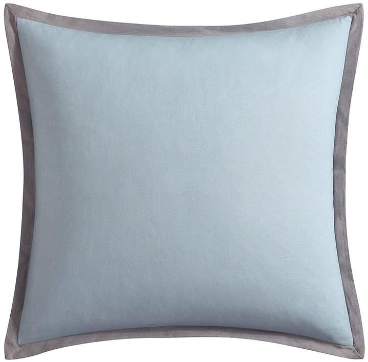 Blue Lace Ombre European Sham