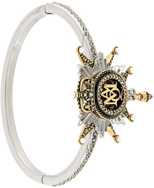 Alexander McQueenAlexander McQueen insignia bracelet