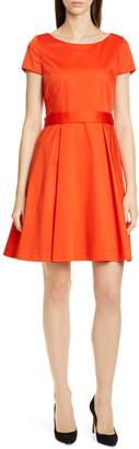 BOSS Dalene Fit & Flare Dress