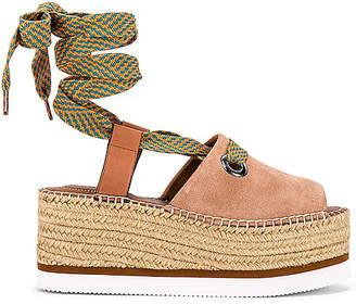 See by Chloe Glyn Wrap Platform Sandal