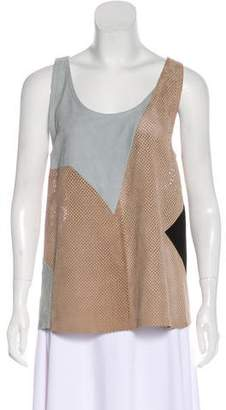 Drome Leather Sleeveless Top w/ Tags