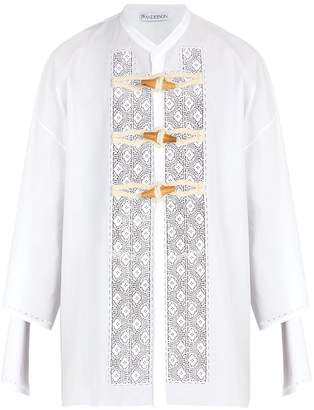 J.W.Anderson Broderie-anglaise cotton shirt