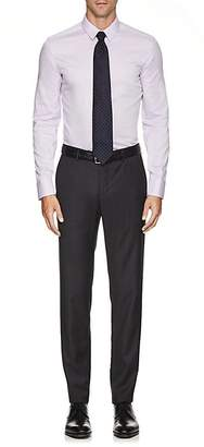 Armani Collezioni MEN'S COTTON OXFORD CLOTH DRESS SHIRT