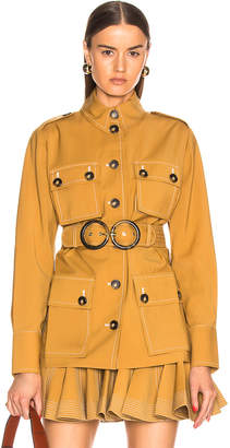 Zimmermann Zippy Safari Jacket in Caramel | FWRD