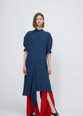 Marni Short Sleeve Mock Neck Dress