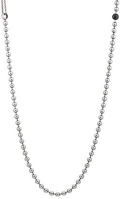 Title of Work Men's Ball- & Cable-Chain Necklace - Silver