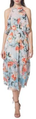 Women's Donna Morgan Print Midi Dress $128 thestylecure.com