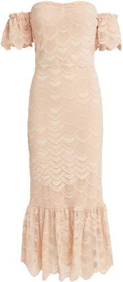 Nightcap Clothing Victorian Flutter Midi Dress