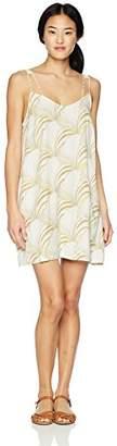 RVCA Junior's Marigold V-Neck Dress