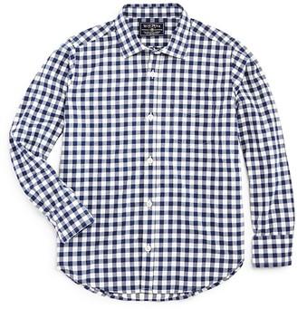 Rose Pistol Boys' Gingham Shirt - Big Kid $45 thestylecure.com