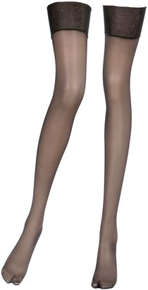 Tres Femme Thigh High Stockings $21 thestylecure.com