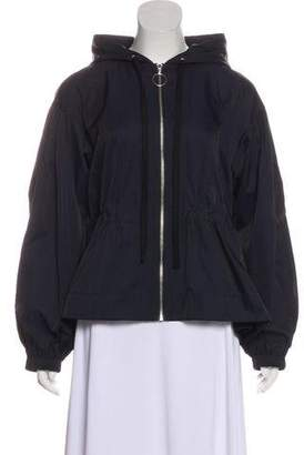 Elizabeth and James Hooded Zip-Up Jacket w/ Tags