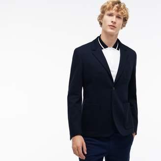 Lacoste Men's Regular Fit Cotton Pique Jacket