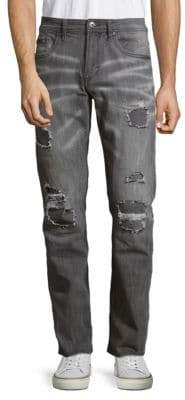 Buffalo David Bitton Evan-X Slim-Fit Distressed Jeans
