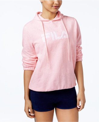 Fila Franca Pullover Hoodie $70 thestylecure.com