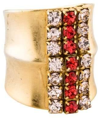Dannijo Crystal Cocktail Ring