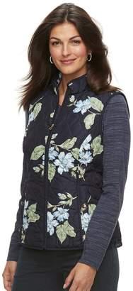 Croft & Barrow Women's Classic Quilted Vest