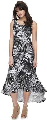 Apt. 9 Petite Ruffle High-Low Maxi Dress