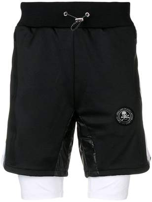 Philipp Plein XYZ Scratch shorts