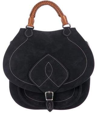 Maison Margiela Suede Saddle Bag