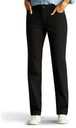 Lee Jeans Women's Instantly Slims Straight Leg Jean