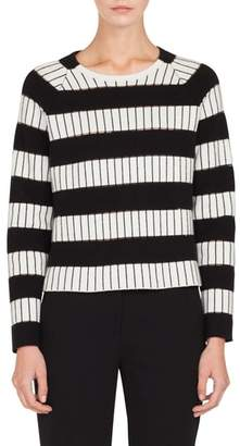 Akris Stripe Sweater